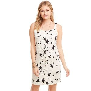 Chaser Heirloom Wovens Button Front Dress
